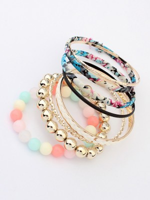 The Most Fashionable Occident All-match Bohemia Multi-layered Fabric Hot Sale Bracelet