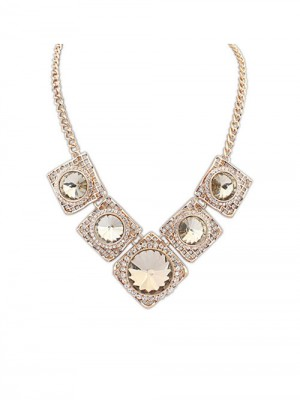 The Most Fashionable Occident Street shooting Major suit Luxurious Retro Hot Sale Necklace