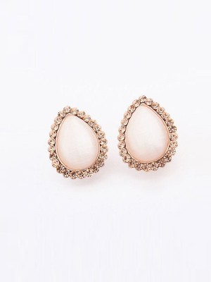 The Most Trendy Occident Water Drop Temperament Catseye Hot Sale Ear Clip