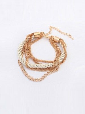 The Most Stylish Occident All-match Woven Multi-layered Hot Sale Bracelets