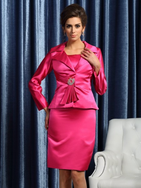 Fashion Satin Special Occasion Long Sleeves Wrap