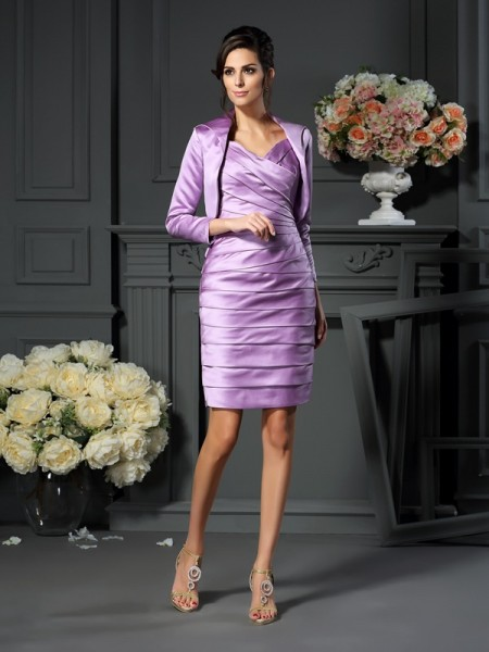 Fashion Satin Special Occasion 3/4 Sleeves Wrap