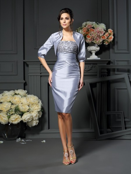 Stylish Taffeta Special Occasion 1/2 Sleeves Wrap