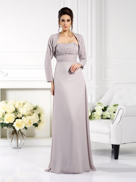 Fashion Chiffon Special Occasion Long Sleeves Wrap