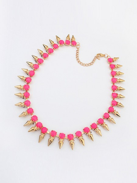 The Most Trendy Occident Hyperbolic Conical Punk Simple Hot Sale Necklace
