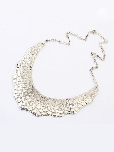 The Most Stylish Occident Retro Metallic Street Shooting Hot Sale Necklace