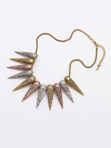 The Most Stylish Occident Hyperbolic Exotic Punk Conical Hot Sale Necklace