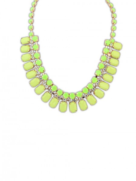 The Most Fashionable Occident Elegant all-match Blocks Hot Sale Necklace