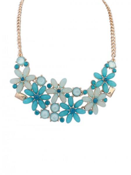 The Most Fashionable Occident Flowers Blossoming all-match Hot Sale Necklace