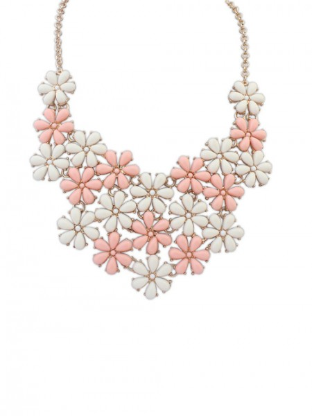 The Most Fashionable Occident Blooming Fresh Floret Hot Sale Necklace