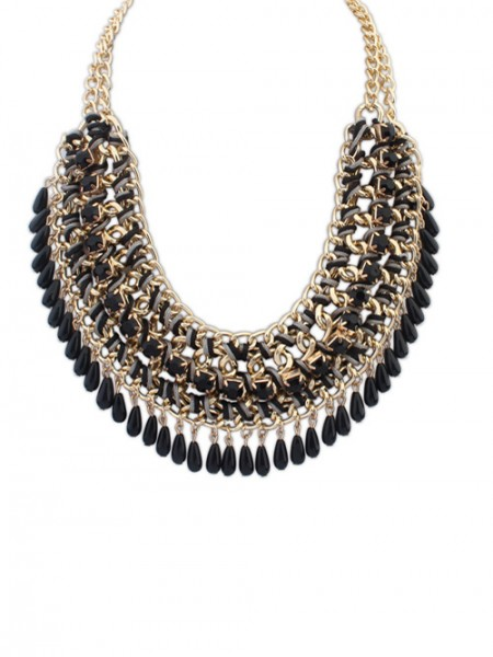 The Most Fashionable Occident Ethnic Woven Street Shooting Retro Hot Sale Necklace