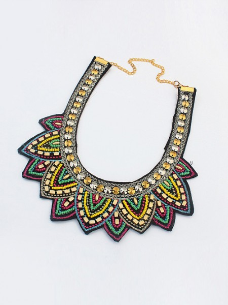 The Most Trendy Occident Hyperbolic Ethnic Personality Hot Sale Necklace