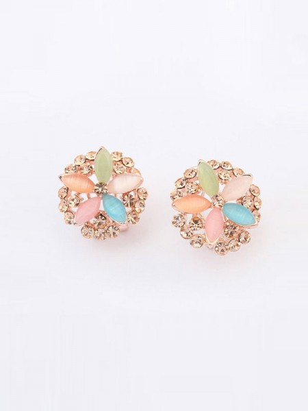 The Most Trendy Occident Five Flowers Exquisite Hot Sale Ear Clip